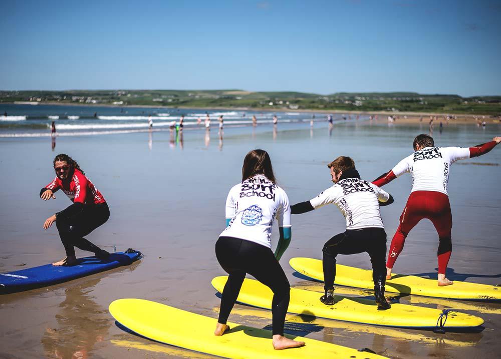 Lahinch surf trip 2020