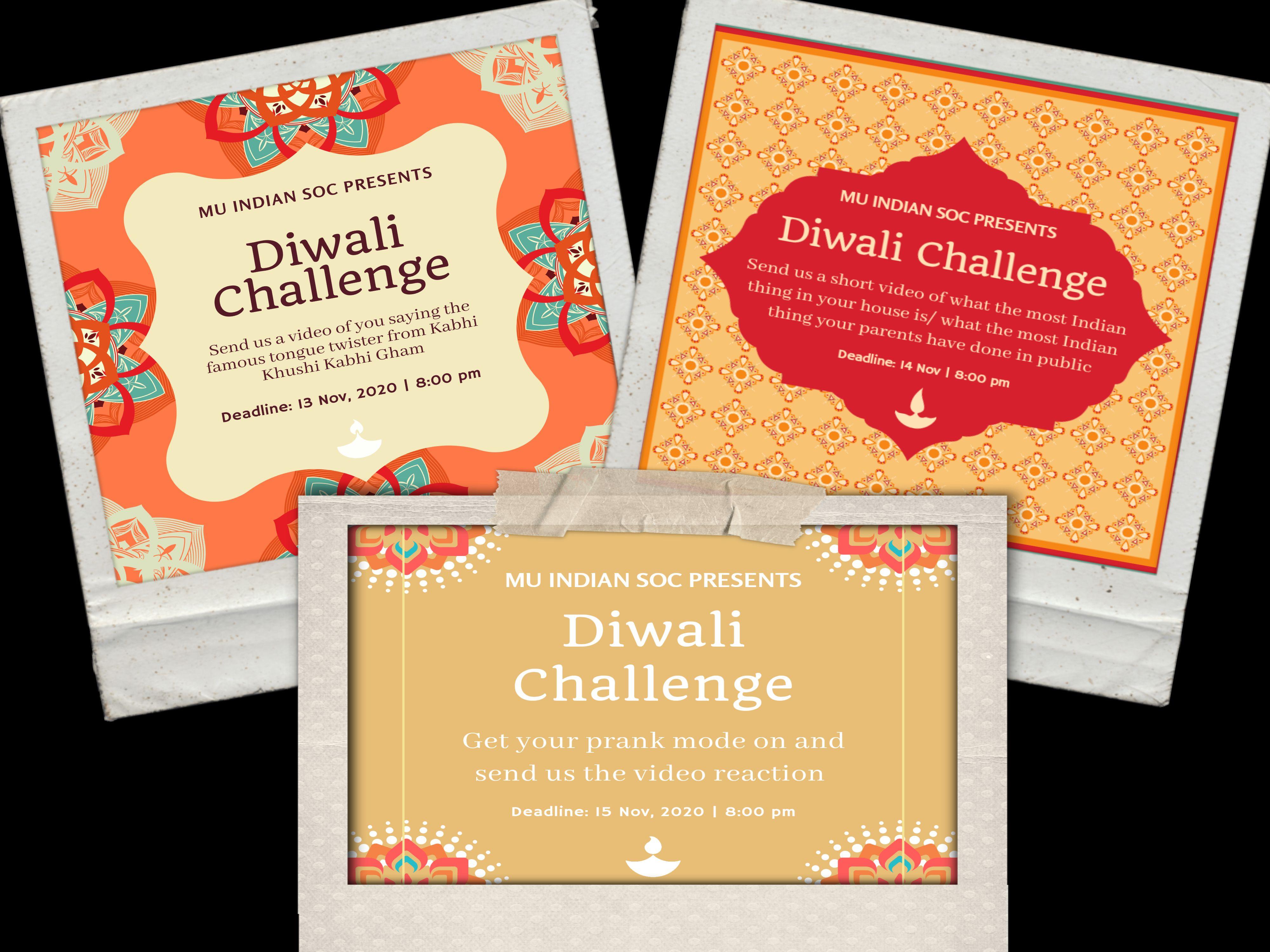 Diwali Weekend Challenges
