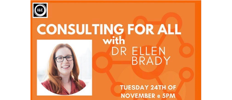 CONSULTING FOR ALL with Dr Ellen Brady