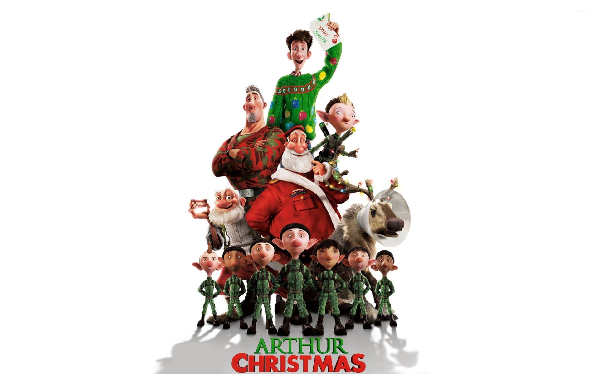 'Arthur Christmas' w/ MU SVP